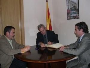Visita del Secretari de la Planificació Territorial