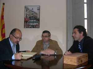 Visita Director General d'Alimentació, Qualitat i Indústries Alimentàries