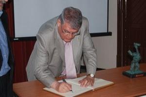 Visita President del F.C. Vilafranca