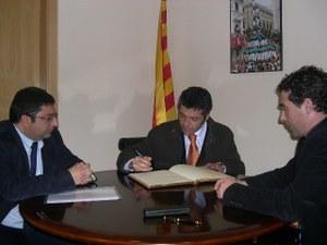 Visita del Secretari General per a la Immigració